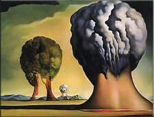 "Strange Terror Surrealism Tree On Canvas Modern Art Wall Decor 24""×36"" #1843"
