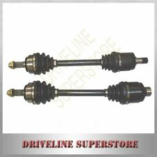 TWO CV JOINT DRIVE SHAFTS FOR HONDA PRELUDE 1986-1989 all