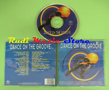 CD DANCE ON THE GROOVE compilation 1995 PURPLE BEAT JOE TAFF ASIA (C23) no mc lp
