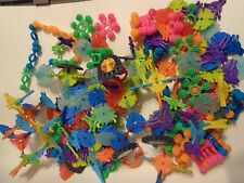 Lot of various plastic Building Blocks in multiple shapes and colors