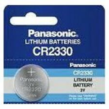 1 X PILA BOTON PANASONIC BATERIA CR2330 DE LITIO 3V LITHIUM BATTERY