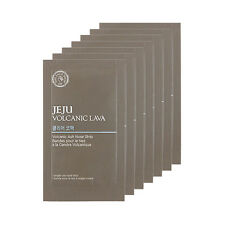 [THE FACE SHOP] Jeju Volcanic Lava Volcanic Ash Nose Strips - 1pack (7pcs)