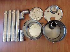 BOAT CAMPING TENT CARAVAN TURKISH TEA KETTLE HOT WATER HEATER WOOD STOVE