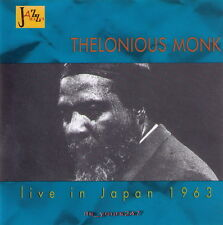 Thelonious monk: Live au Japon 1963 | CD