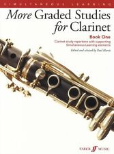 More Graded Studies for Clarinet Learn to Play Study Tutor Lesson Music Book 1