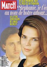 Couverture magazine,Coverage Paris-Match 29/05/97 Stéphanie de Monaco