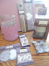 """BUTTERCREAM """"ELIZABETH"""" PARTY SUPPLY STRAWS BANNER TAGS BOTTLE WRAPS CUPS FOR 12"""