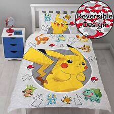 POKEMON GO DUVET COVER CATCH SINGLE PANEL PIKACHU - IN STOCK NOW!