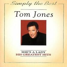 Tom Jones She's a lady-His greatest hits (20 tracks, 1994, 'simply the be.. [CD]
