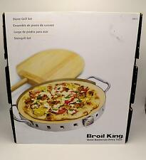 "Broil King 69815 Pizza Stone Grill Set 13"" New"