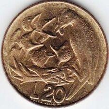 SAN MARINO - 1975 -    20 lire - KM 44 - XF  BIRDS OISEAUX