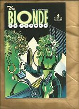 The Blonde Twelve Pearls 4 1997 Bad Girl F.Saudelli Fantagraphics books