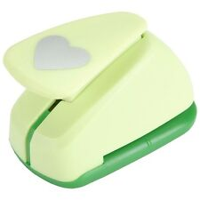 """HEART 1"""" Jumbo Clever Lever Paper Punch Marvy"""