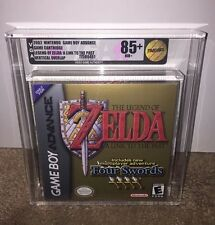 Legend of Zelda: A Link to the Past W/Four Swords VGA 85+ GOLD! FIRST PRINT GBA!
