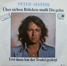 """7"""" MINT-! PETER MAFFAY Über Sieben Brücken mußt Du gehn"""