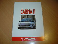 CATALOGUE Toyota Carina II de 1990