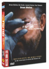 F FOR FAKE (1973) - Orson Welles DVD *NEW