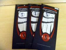 3 BRAND NEW CABRETTA LEATHER GOLF GLOVES LARGE  MENS LEFT HAND