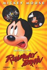RUNAWAY BRAIN - 1995 - Orig 27x40 D/S Movie Poster - MICKEY MOUSE - DISNEY!