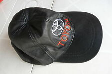 Lederkappe Toyota Baseball Cap Leder ungetragen