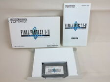 FINAL FANTASY I II 1 2 Game Boy Advance Nintendo Video Game Import Japan gba