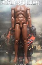 "Art Figures Dead Soldier Deadshot 12"" Nude Body loose 1/6th scale"