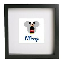 Disney Lego 3d Frame Mickey Minnie Mouse Ariel Donald Daisy Duck Toy Story Alien