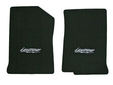 NEW! 2004-2008 Black Floor Mats Ford F-150 with Lightning Embroidered logo pair
