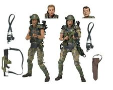 Aliens Corporal Dwayne Hicks & Private William Hudson Action Figures NECA 2 Pack