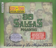 Servando y Florentino Oscar D Leon 30 Salsas Pegaditas 2CD+DVD New Sealed