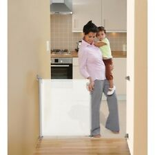 NEW ER-L820 DreamBaby RETRACTABLE SAFETY GATE-FITS OPENINGS TO 55IN-(White)