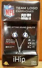 NFL Indianapolis Colts Ihip Earphones Brand New