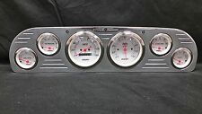 1957 1958 1959 1960 FORD TRUCK 6 GAUGE CLUSTER WHITE