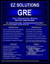 EZ GRE - Math Strategies-ExLibrary