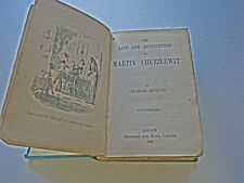 The Life and Adventures of Martin Chuzzlewit by Charles Dickens dated 1885 RARE