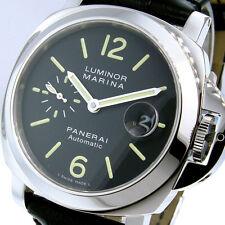 UNWORN PANERAI PAM 104 LUMINOR MARINA 44 mm STEEL PAM 00104