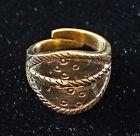 exakte Reproduktion Wikinger Ring verstellbar BRONZE Gr.60-70 Fund Gotland
