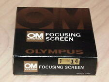 OLYMPUS OM FOCUSING SCREEN 1-14 NEW IN BOX
