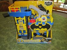 Fisher-Price Imaginext Gotham City Tower Blue bat cycle drone NEW Batman Streets