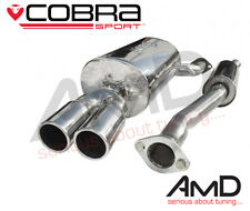 Cobra Sport BMW E46 318i Cat Back Exhaust System Stainless Steel