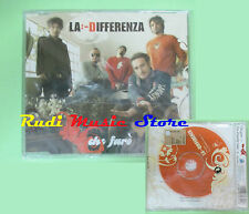 CD Singolo LA DIFFERENZA Che faro' SIGILLATO 2005 austria SMR no mc lp dvd(S10)