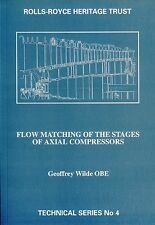 The Rolls-Royce Heritage Trust: Flow matching of the stages of axial compressors