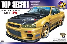 Aoshima 041727  1/24 Nissan Skyline GT-R TOP SECRET From JAPAN Rare