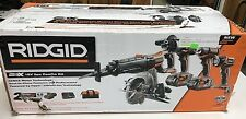 New Ridgid R9652 GEN5X 18 Volt Lithium-Ion Cordless Combo 5 Piece Tool Kit