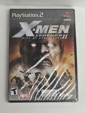 X-Men Xmen Legends II 2: Rise of Apocalypse (PlayStation 2 PS2, 2005) New Sealed