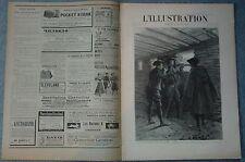 L'ILLUSTRATION 2792 DU 29/8/1896 MILITAIRES ALPES MEIJE  TOMBOUCTOU MYSTERIEUSE