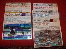 antologia historica de la musica catalana - 5 disques 33 tours Edigsa