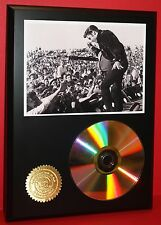 ELVIS PRESLEY LTD EDITION 24kt GOLD CD DISC COLLECTIBLE AWARD QUALITY DISPLAY