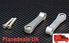 Alloy UPGRADE Front Upper Suspension Arm For Tamiya CC01 (1 pair ) BL or SIL 16