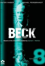 Beck: Set 8 -  Episodes 22-24 [3 D (2013, DVD NEUF) WS/SWE LNG/ENG SUB3 DISC SET